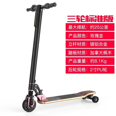 portable electric scooter - 3 wheels